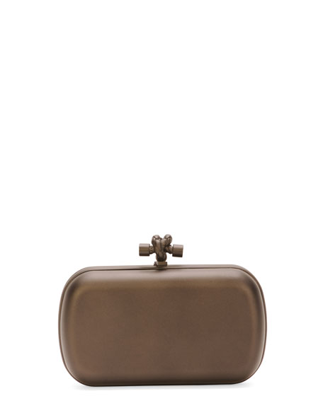 Mirror Lens Knot Clutch Bag
