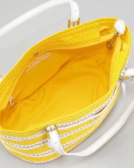 Jav Squishee Tote Bag, Yellow Mix
