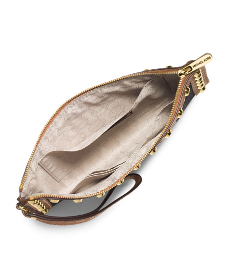 Large Selma Zip Clutch