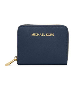 MICHAEL Michael Kors  Medium Jet Set Travel Zip-Around Wallet