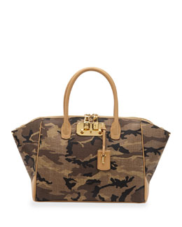 VBH Brera 34 Camouflage Medium Satchel Bag