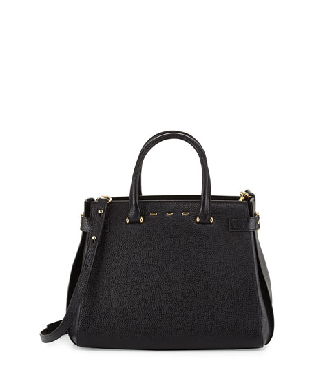 VBH Boulevard Vitello Tote Bag, Black