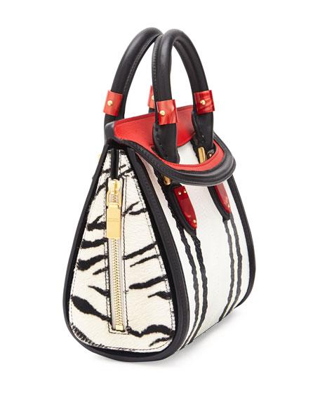 Heroine Mini Snake Satchel Bag, Multi Colors