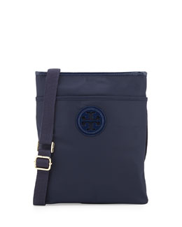 Tory Burch Ella Nylon Swingpack, Navy