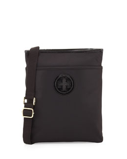 Tory Burch Ella Nylon Swingpack, Black