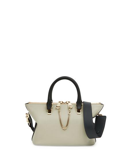 Baylee Mini Shoulder Bag, Gray