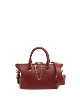 Chloe Baylee Mini Shoulder Bag, Red/Purple