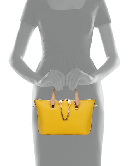 Baylee Mini Shoulder Bag, Yellow/Brown