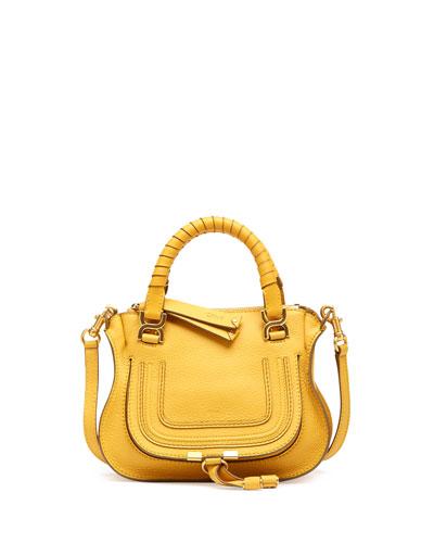 Chloe Marcie Mini Shoulder Bag, Yellow