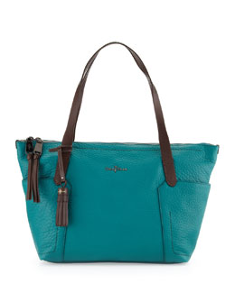 Cole Haan Parker Small Zip-Top Shopper Bag, Pendant