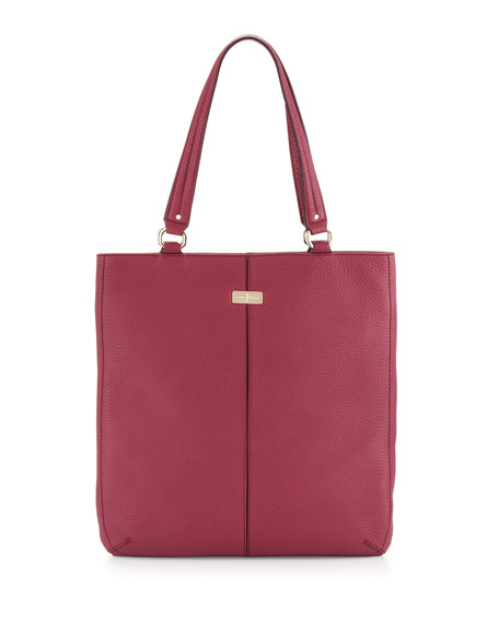 Village Flat Tote Bag, Winery
