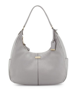 Cole Haan Village Small Rounded Hobo Bag, Paloma