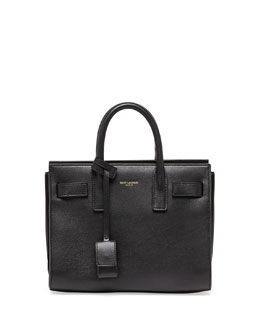 Saint Laurent Sac de Jour Mini Crossbody Bag, Black
