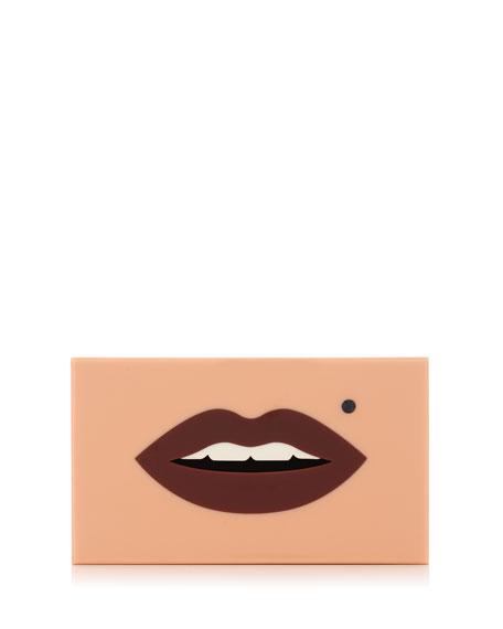 Pandora Kiss Me Clutch Bag, Pink
