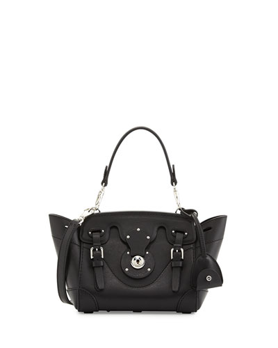 Soft Ricky 18 Crossbody Bag, Black