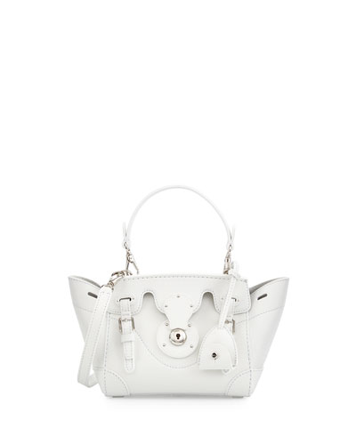 Ralph Lauren Soft Ricky 18 Crossbody Bag, White
