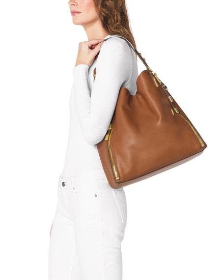 e2e423d4c Michael Kors Large Miranda Zipper Shoulder Bag