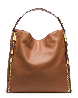 Michael Kors  Large Miranda Zipper Shoulder Bag
