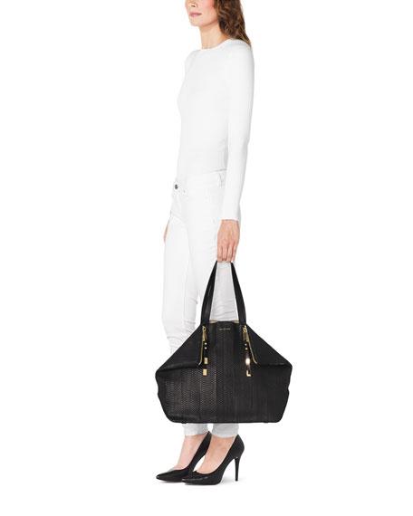 Large Miranda Zips Shopper
