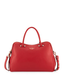 kate spade new york charles street audrey tote bag, deep blaze