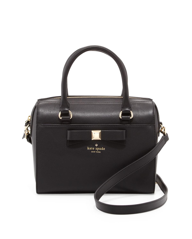 kate spade new york holly street ashton satchel bag, black
