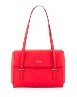 kate spade new york cedar street small luciana shoulder bag, dark geranium