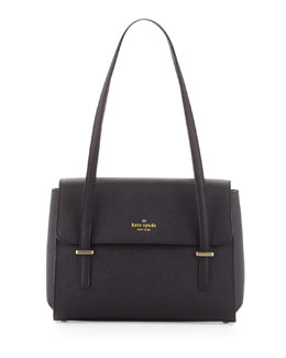 kate spade new york cedar street small luciana shoulder bag, black