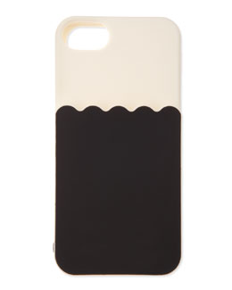 kate spade new york scallop pocket silicone iphone 5 case