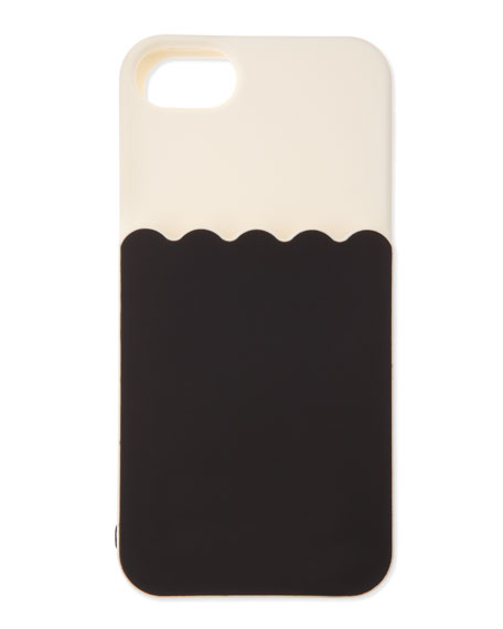 scallop pocket silicone iphone 5 case