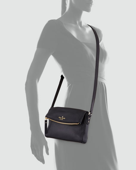 cobble hill carson crossbody bag, black