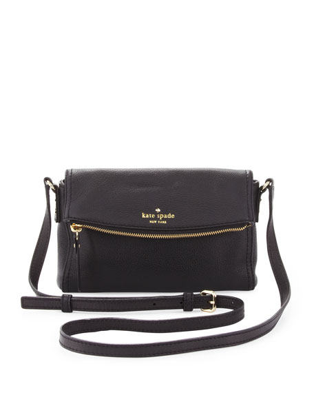 cobble hill carson crossbody bag, black