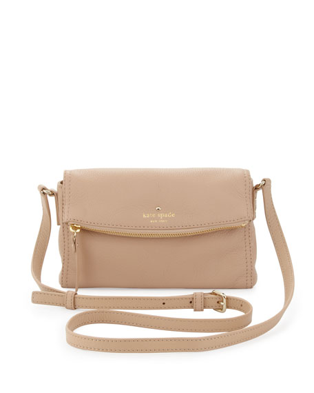 cobble hill carson crossbody bag, affogato