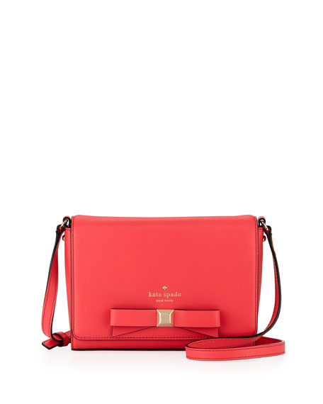 holly street rubie crossbody bag, geranium
