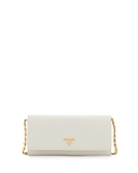 prada white wallet