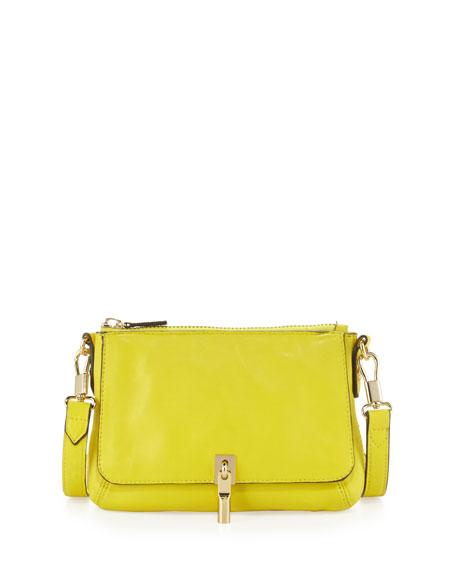 Elizabeth and James Cynnie Micro Crossbody Bag, Peony Yellow