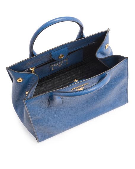 Daino Tote Bag, Blue (Cobalto)