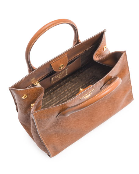 Daino Tote Bag, Brown (Brandy)