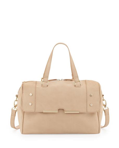 Portofino Nude Satchel Bag