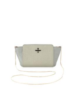 Pour la Victoire Elie Mini Crossbody Bag, Light Steel