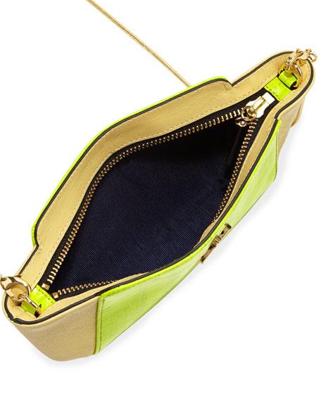 Elie Mini Crossbody Bag, Neon Cork
