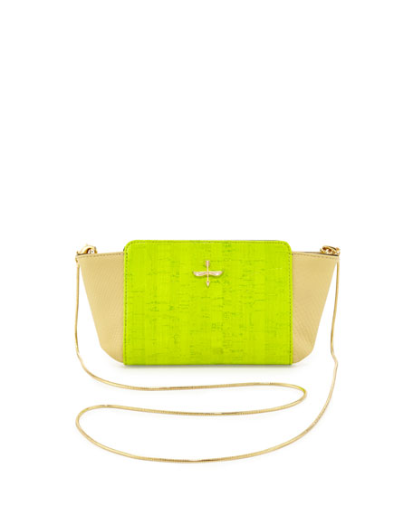 Elie Mini Crossbody Bag, Neon Cork