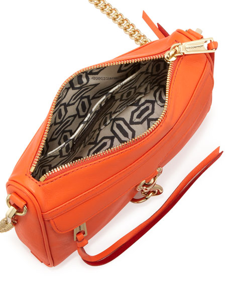 Mini M.A.C. Crossbody Bag, Orangina