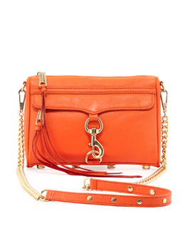 Rebecca Minkoff Mini M.A.C. Crossbody Bag, Orangina