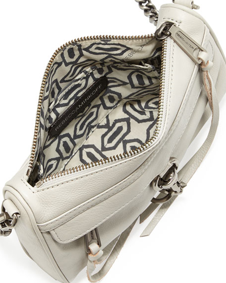 MAC Clutch Crossbody Bag, Pale Gray