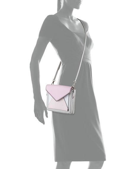 Marlowe Mini Envelope Crossbody Bag, Gray Multi