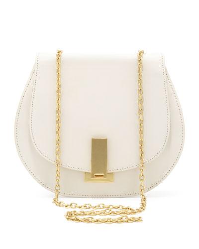 Z Spoke Zac Posen Loren Chain-Strap Shoulder Bag, Pearl