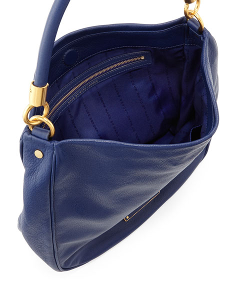 Too Hot To Handle Hobo Bag, Deep Ultraviolet