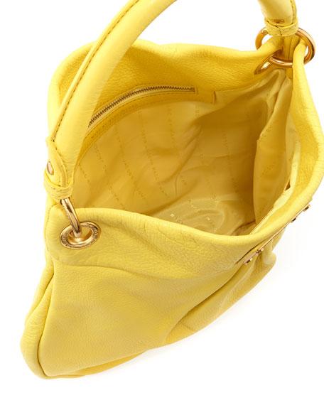 Classic Q Hillier Hobo Bag, Banana Creme