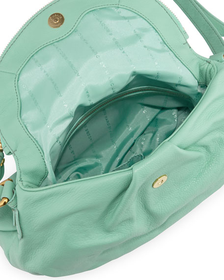 Classic Q Natasha Crossbody Bag, Aqua