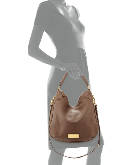 70f63efc6c MARC by Marc Jacobs Washed Up Billy Hobo Bag, Brown Earth=